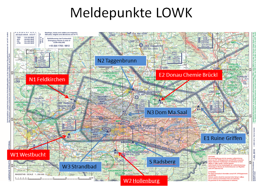 Meldepunkte LOWK